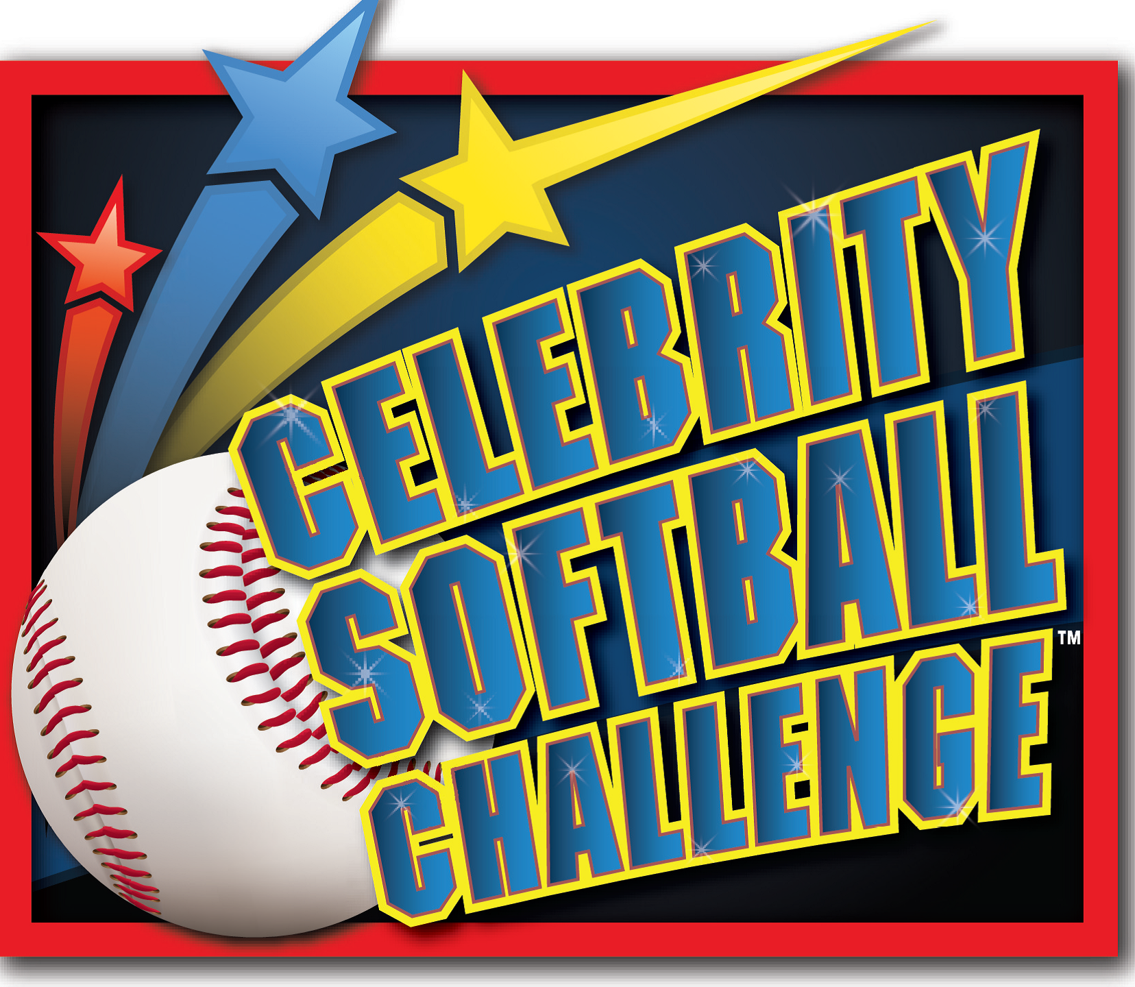 celebrity softball challenge logo