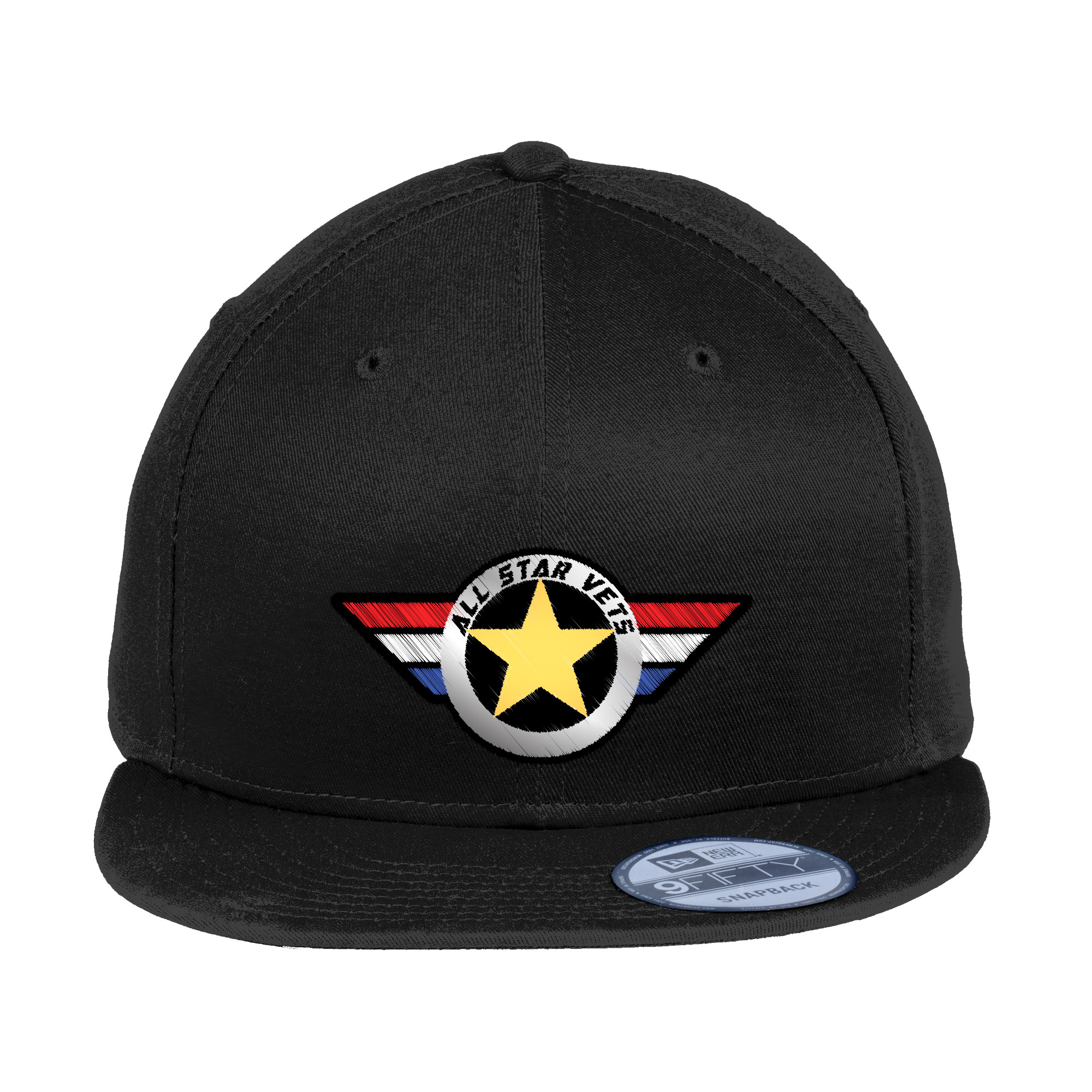 New Era® - Flat Bill Snapback Cap - All Star Vets 6384be63170e