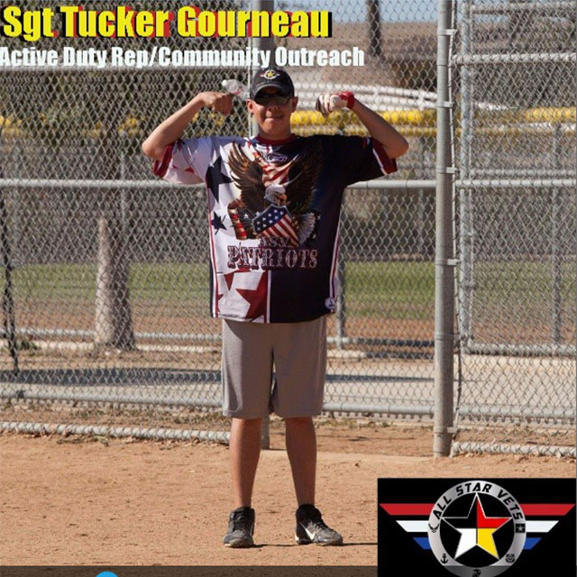 Tucker Gourneau, Active Duty Rep/Community Outreach